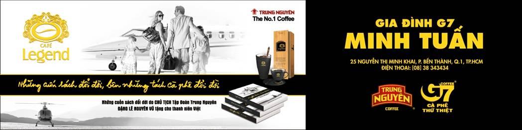 Làm bảng hiệu bạt hiflex cà phê trung nguyên