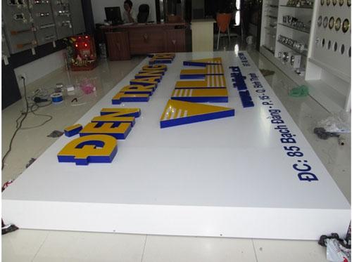 Thiết kế mặt dựng alumium