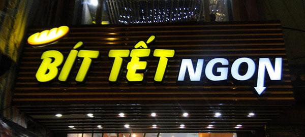 Mẫu bảng hiệu đẹp cho nhà hàng