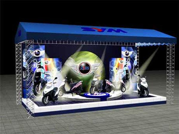 Showroom quảng cáo suzuki