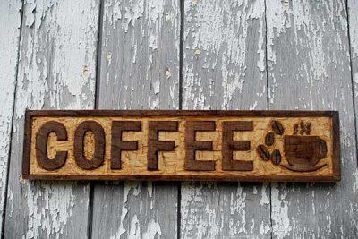 bảng hiệu cà phê đẹp