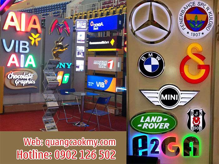 Làm logo công ty - thương hiệu nổi tiếng
