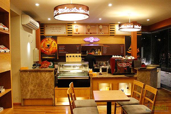 Bảng hiệu gỗ quán cà phê