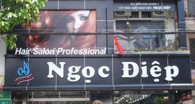 bảng hiệu quảng cáo quận 1 Salon tóc