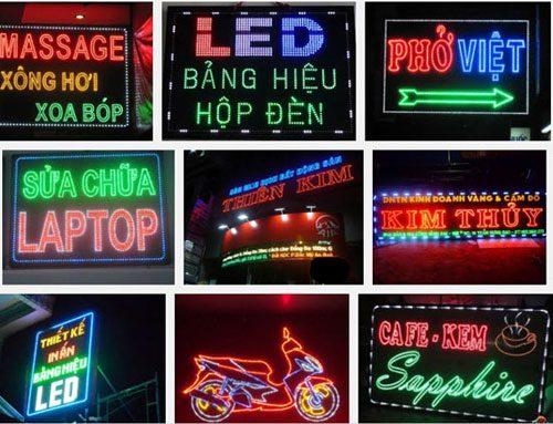 Bảng hiệu led   những mẫu bảng hiệu led đẹp