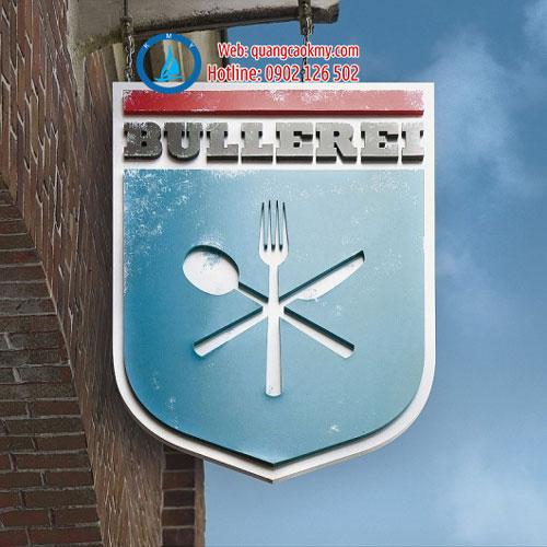 Mẫu bảng hiệu gỗ đẹp cho nhà hàng