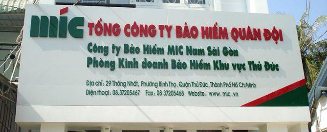 bảng hiệu công ty đẹp tại HCM