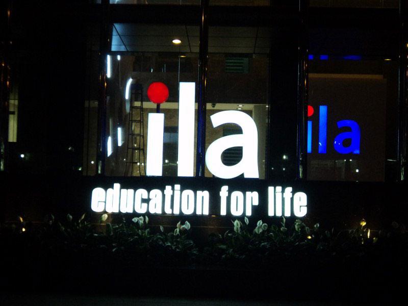 Bảng hiệu chữ nổi đèn led ILA HCM