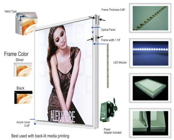 Hộp đèn siêu mỏng KMY