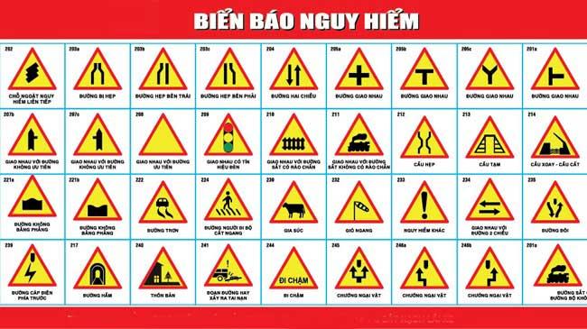 Làm biển hiệu giao thông