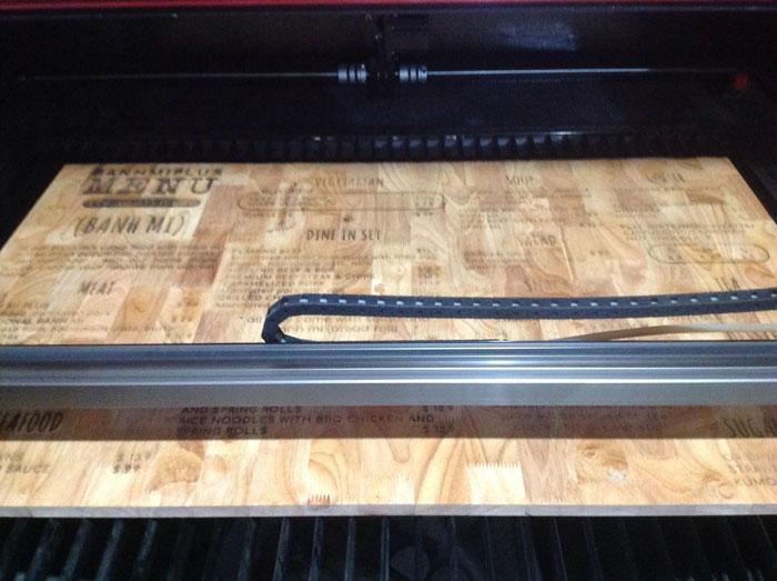 bảng hiệu gỗ khắc laser đẹp