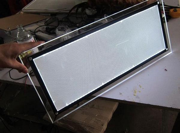 Cấu tạo hộp đèn led siêu mỏng