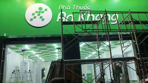 bang hiệu nhà thuốc AN Khang