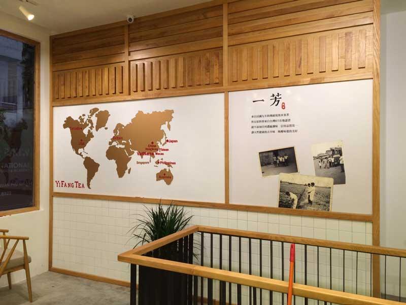 Cắt CNC bản đồ thế giới