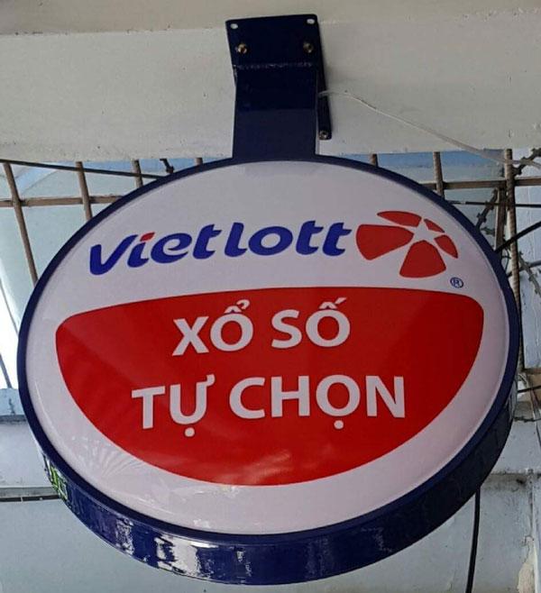 Hộp đèn tròn Vietlot
