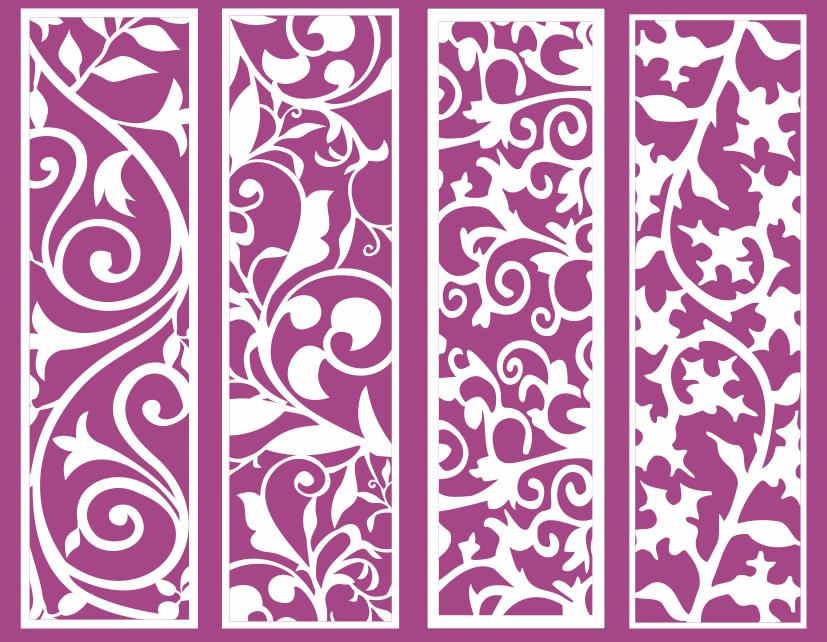 Mẫu hoa văn trang trí nội thất