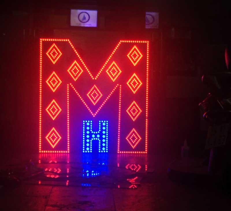 Chữ nổi đèn led đẹp