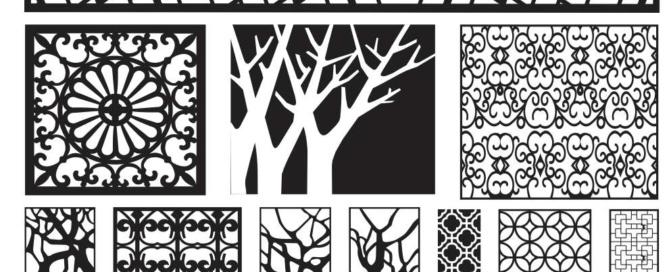 Mẫu cnc hình cây