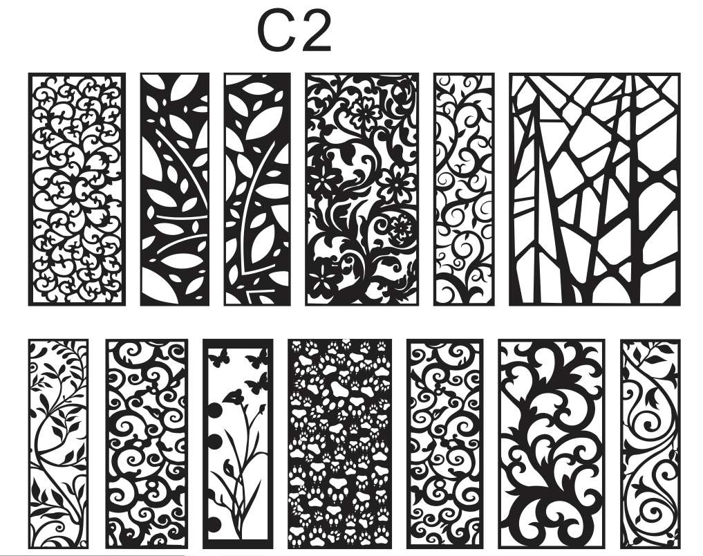Mẫu hoa văn hình cây