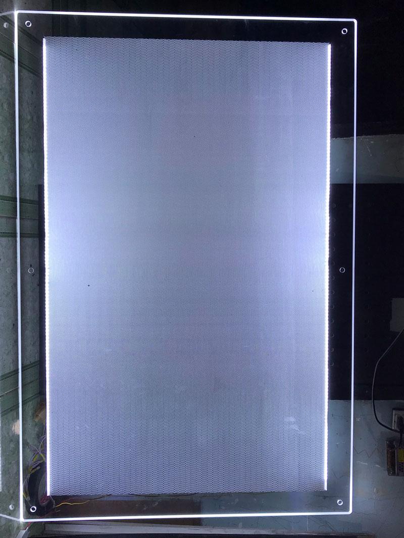 Thi công đèn led siêu mỏng HCM